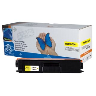 Toner Yellow kompatibel mit Brother DCP-L8400 HL-L8250 MFC-L8650 L8850CDW